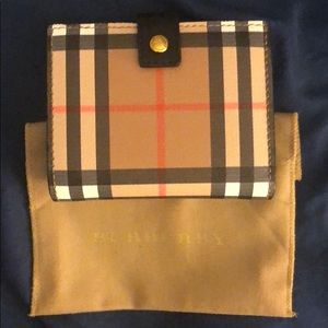 "BURBERRY ""Lakeside Vintage CHK"" wallet."
